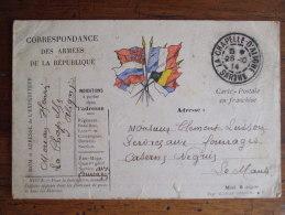 ALB1-GUERRE 1914/1918-CORRESPONDANCE DES ARMEES DE LA REPUBLIQUE - Guerre 1914-18