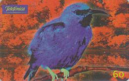 Télécarte Brésil - OISEAU Exotique - DACNIS BLEU - Bird Brazil Phonecard - Vogel Telefonkarte - 2370 - Sperlingsvögel & Singvögel