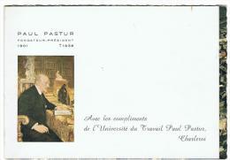 CHARLEROI - UNIVERSITE DU TRAVAIL PAUL PASTUR - Vue Panoramique (double Carte) (Nels-Iris) - Charleroi