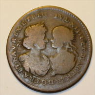 Louis XIV Et Marie-Thérèse - 27 Mm - Tokens & Medals