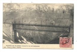 Pajares De Adaja (Espagne, Castilla La Mancha) :Viaducto De Matarredona En  1912 (lively). - Espagne