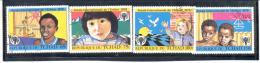 TCHAD - N° 365 à 368 Oblitérés - Année Internationale De L'Enfant 1979 - Tschad (1960-...)