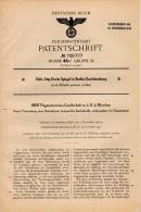 Original Patentschrift - BMW Flugmotorenbau GmbH In München , 1938 , Kurbelwelle Für Flugmotoren , Flugzeug , Flieger !! - Fliegerei