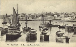 TANGER (Maroc)  Le Port Et La  Nouvelle Ville - Tanger