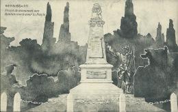 Bernissart - Projet De Monument Aux Soldats Morts Pour La Patrie -1921 ( Voir Verso ) - Bernissart