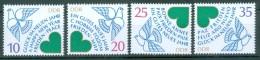 DDR - Einzelmarken Mi-Nr. 2844 - 2847 Aus Block 75 Postfrisch - DDR