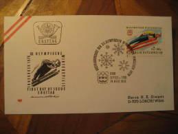 Seefeld Tirol 1975 SKI JUMPING jump skiing winter olympic games olympics Innsbruck 1976 Austria cover