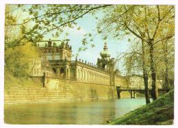 M220 Dresden - Am Zwingergraben / Viaggiata 1987 - Dresden