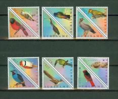 Suriname Surinam 2001,12 V, Bird,birds,vogels,compl Set, MNH/Postfris(S1287a) - Vogels