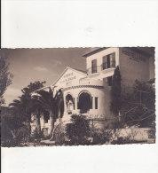 Carte Postale Photo LE LAVANDOU (Var) Auberge De La Calanque-Hôtellerie Bar Américain - VOIR 2 SCANS - - Le Lavandou