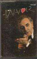 K7 Audio.Charles AZNAVOUR. Embrasse-moi, Une Idée, Les Emigrants, La Maison Hantée, Toi Contre Moi... - Audio Tapes