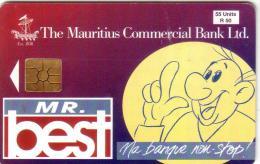MAURICE MAURITIUS MAURITIUS COMMERCIAL BANK MR BEST 55U UT - Maurice