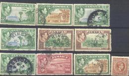 3Rv-883: Restje Van 10 Zegels: .. Om Verder Uit Te Zoeken. - Jamaica (1962-...)