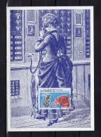 """Carte Maximum De 1976 N° Y&T 1905 """" 100 ANS DU TELEPHONE """" Parfait état + Prix Dégressif. CM - Telecom"""