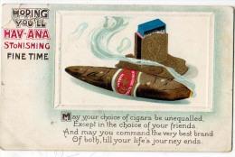Cigar, Hoping You'll Hav-Ana Stonishing Fine Time - Advertising