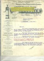 01- Ain - SAULT-BRENAZ - Facture FEUGIER - Mécanique – 1932 - France