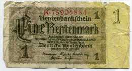 ALLEMAGNE 1 Rentenmark   1937   K75905884 - Sonstige
