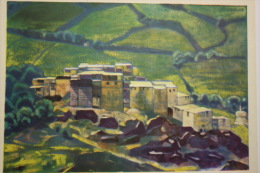 INDIA. KARDANG MONASTERY.  By Roerich. Lahaul And Spiti District. OLD PC 1960 - Inde