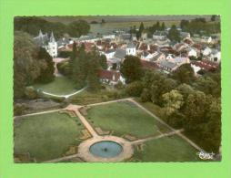 CPSM  FRANCE  03  -  JALIGNY  -  75.103  Vue Générale Aérienne Et Le Parc Du Château ( En 1974 Dentellée ) - Autres Communes