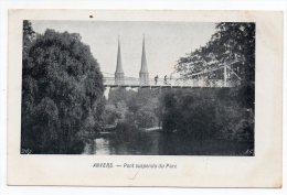 Cpa - Anvers - Pont Suspendu Du Parc - (Antwerpen - Belgique) - Antwerpen