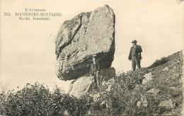 63 - Roche  Branlante à Rochefort-Montagne- N° 353 - CPA Très Bel Etat (2 Scans) - France