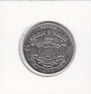 10 FRANCS Nickel Baudouin 1970 FL - 06. 10 Franchi