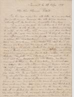 LETTRE DE REMICOURT 13/05/1895 A M. REDOUTE ( 3 1/2 p) A PROPOS D AFFAIRE DE FAMILLE TRES BEAU STYLE DE BERNARD VIERTE?