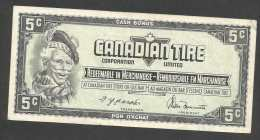 [NC] CANADIAN TIRE MONEY COUPON - 5 CENT. - Canada