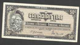 [NC] CANADIAN TIRE MONEY COUPON - 50 CENT. - Canada