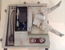 Projecteur De Film - ERCSAM Malex Record Avec 1 Boite De Rangement Et 3 Bobines Et 1 Lampe - Projecteurs De Films