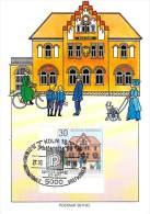 ALLEMAGNE BUND Carte Maximum Num.Yvert 1395 HISTOIRE DES POSTES BUREAU DE BETHEL - Maximum Cards