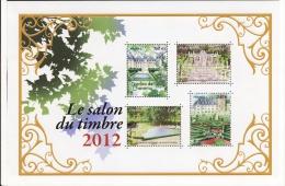 France 2012 - Yv N° 132 ** Site - Jardins, Châteaux ; Salon Du Timbre - Cheverny, - Neufs