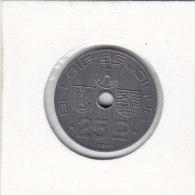 25 CENTIMES  Léopold III 1944 FL/FR Qualité++++++++++++++++++++++++ - 1934-1945: Leopold III