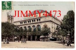 CPA - PARIS 4ème 75 Seine - En 1903 Théâtre Sarah Bernhardt ( Place Du Chatelet ) Bien Animée - J. C. L. - Arrondissement: 04
