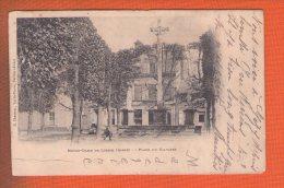 1 Cpa Notre Dame De Liesse Place Du Calvaire - France