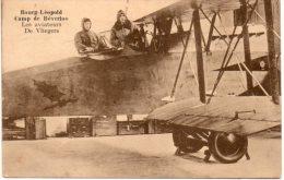Vliegers Piloten Aviateurs Militair Militaire Military Militär Bourg Leopold Camp Kamp Beverlo Vliegtuig Avion Airplane - Aviateurs