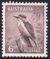 Australia 1937 Kookaburra 6d MH  SG 172 - 1937-52 George VI