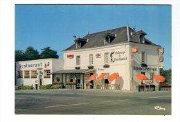 Cp , COMMERCE , Restaurant , Auberge Du PORT-BOULET , BOURGUEIL , 37, écrite 1979 , Combier - Restaurants