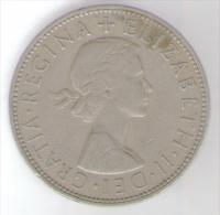 GRAN BRETAGNA HALF CROWN 1962 - K. 1/2 Crown