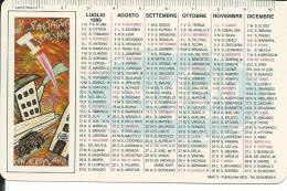 CAL519 - CALENDARIETTO 1999 - BUFFETTI - Tamaño Pequeño : 1991-00