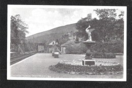 Fountain Strathyre Railway Station Unused Sepia Old Postcard J B White - Perthshire