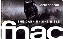 @+ Carte Cadeau - Gift Card : FNAC - Batman - France