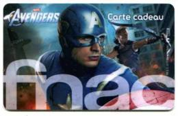 @+ Carte Cadeau - Gift Card : FNAC : AVENGERS (CARTE A). - France