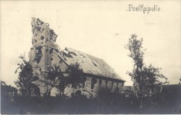 POELCAPELLE        KERK   1917 - Langemark-Poelkapelle