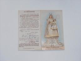 SANTINI/SANTINO - PAGELLA DI AGGREGAZIONE B.V. DEL CARMINE - RIMINI 1906 - Santini