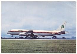ZAMBIA Airways, Africa, DOUGLAS DC 8 Series 43, Airplane, Flugzeug - 1946-....: Era Moderna