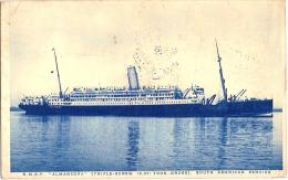 R.M.S.P. ALMANZORA  1929 - Dampfer