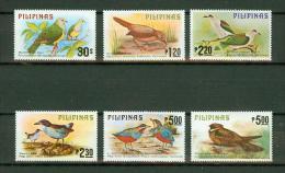 Philippines Pilipinas 1979, 6V, Birds,vogels,oiseaux,vöge L,aves,MH/Ongebruikt(D129 9) - Vogels