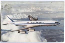 AIR FRANCE, Boeing 707 Intercontinental, Airplane, Flugzeug - 1946-....: Moderne