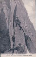 Chamonix Alpinistes, Arrivée Au Sommet Du Grépon (8095) - Alpinisme